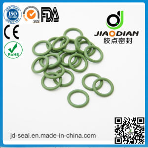 Fashion Design Light Green Viton 75 Duro as-568 with SGS Confirmed O-Ring for Sealing (O-RING-0127)