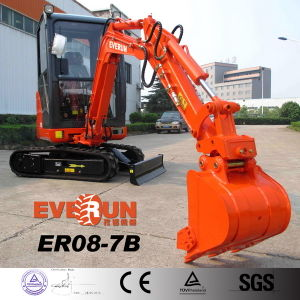 Everun Brand Er18 Crawler Hydraulic Excavator with Ce Certificate pictures & photos
