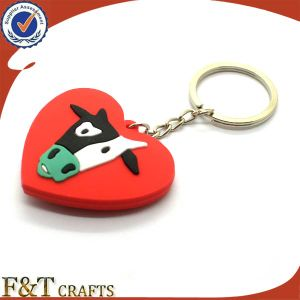 Promotional PVC Cartoon Keychains with Customer Logo pictures & photos