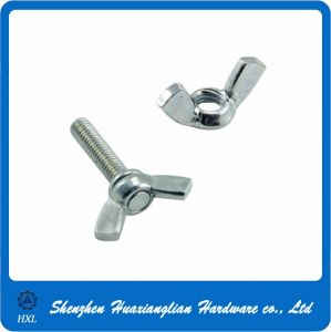 Stainless Steel Wing Screw and Nut pictures & photos
