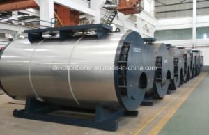 Horizontal, 3 Pass, Fire Tube Steam Boiler for Textile Industry pictures & photos