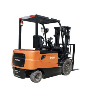 3.0ton 4-Wheel Battery Forklift Truck (CPD30) pictures & photos