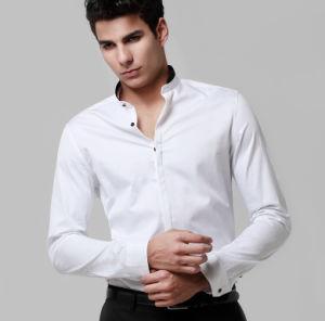 Egyptian Cotton Quality Non-Iron White Shirt pictures & photos