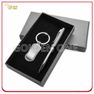 Promotion Pen & Metal Key Chain Gift Set pictures & photos