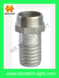 Stainless Steel Guillemin Coupling Male Helico Hose End pictures & photos