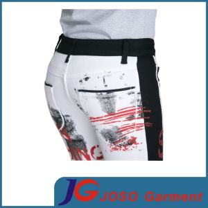 Women Printing Skinny Pants (JC1347) pictures & photos
