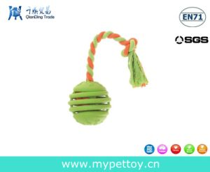 Pets Roped Toy with Rubber Ball pictures & photos