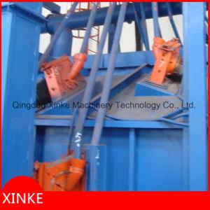 Large Tonnage Hanger Hook Type Dustless Shot Blast Descaling Cabine pictures & photos