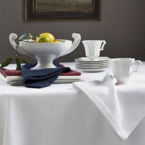 White Spun-Polyester Cotton-Feel Hotel Napkins (DPFR80127) pictures & photos