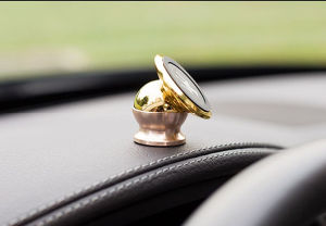 360 Degree Rotating Mini Magnetic Car Phone Holder pictures & photos