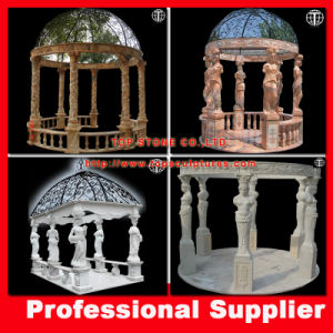 Hand Carved Outdoor Garden Marble Gazebo pictures & photos