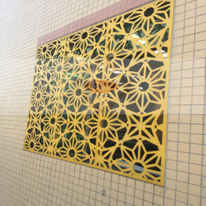 Mutil-Shape Aluminum Perforated Panel for Windoor Decoration pictures & photos