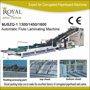 Mjbzq-1 Automatic Flute Laminating Machine pictures & photos