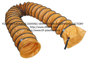 PVC Flexible Air Blower Duct Hose with Buckle Coupling pictures & photos