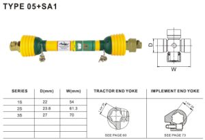 Tractor Shaft for Agricultural Machinery pictures & photos