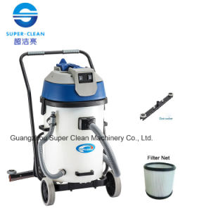 Commerial 60L Plastic Tank Wet and Dry Vacuum Cleaner with Squeegee pictures & photos