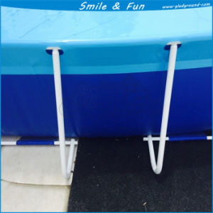 Size 10*10*1.32m for About 15 Persons Swimming Metal Frame Pool pictures & photos
