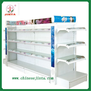Shampoo Display Shelf, Glass Shelf with Light (JT-A12) pictures & photos