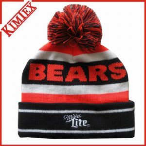 Custom OEM Knitted Jacquard Acrylic Winter Beanie Hat pictures & photos