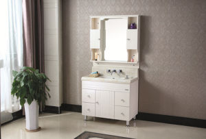Multi-Layer Solid Wood Sanitary Ware Bathroom Cabinet