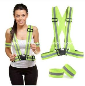 Safety Reflective Shoulder Belt pictures & photos
