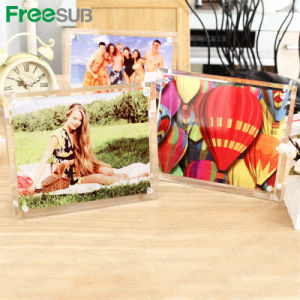 Sublimation Mini Glass Photo Frame Glass Crystal pictures & photos
