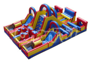 Giant Over 70 Feet Inflatable Obstacle Fun City for Children pictures & photos