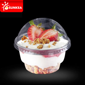 High Quality Pet Plastic Dome Lids pictures & photos