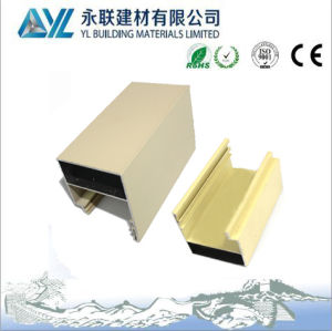 Hot Sale Powder Coated Aluminum Profile for Windows and Doors pictures & photos