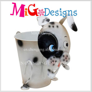 Garden Decor Hotsale New Product Antique Metal Dog Planter pictures & photos