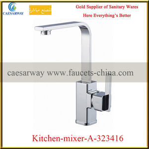 Sanitary Ware Brass Single Lever Sink Mixer pictures & photos