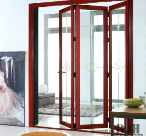 Double Glazed Aluminium Folding Door with Best Good Quality pictures & photos