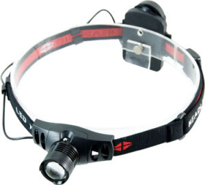 T20 Brightest 3W Plastic Telescopic Zoom High Power LED Headlamp pictures & photos