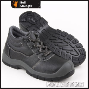 Industrial Leather Safety Boots with Steel Toe and Steel Midsole (SN5329) pictures & photos