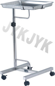 Stainless Steel Medical Mayo Stand Trolley pictures & photos