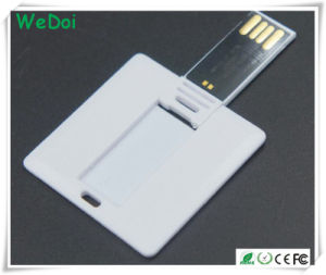 Promotional Card USB Pen Drive with Competitive Price (WY-C28) pictures & photos