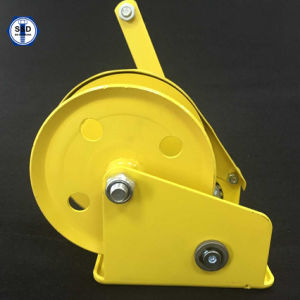 2000lbs Hand Winch Powder Coating Removable Handle pictures & photos