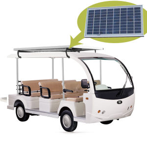 Solar Panel Express Bus 8 (8 seater shuttle bus) pictures & photos