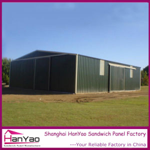 Customized Low Cost Steel Structure Poultry House pictures & photos