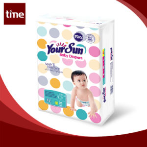 Colored Disposable Green Core Baby Diapers Size and Prices pictures & photos