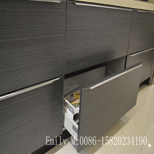 Custom Made High Gloss UV Kitchen Cabinet (ZHUV factory) pictures & photos