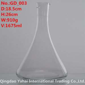 1675ml Clear Colored Glass Decanter pictures & photos