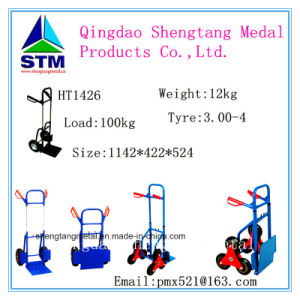 Foldable Metal Hand Trolley Ht1505 pictures & photos