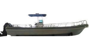 China Aqualand 32feet 9.6m Fiberglass Sports Fishing Boat/Speed Motor Boat/Panga Boat (320PRO) pictures & photos