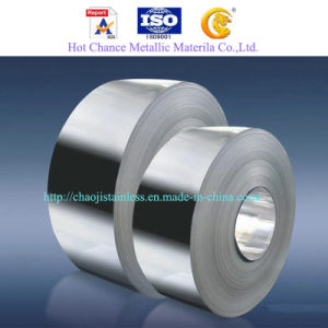 SUS 201 304 Stainless Steel Cold Rolled Strips pictures & photos