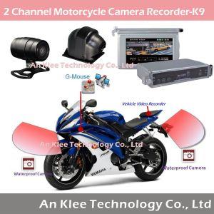 2 Camera Motorbike Recorder with 2 CCD Camera