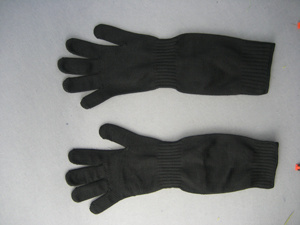 Steel Wire Anit-Cut Long Sleeve Glove pictures & photos