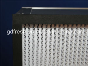 Deep Pleated HEPA Filter with Paper Separator pictures & photos
