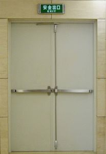 UL Listed 2hrs Steel Escape Fire Door pictures & photos