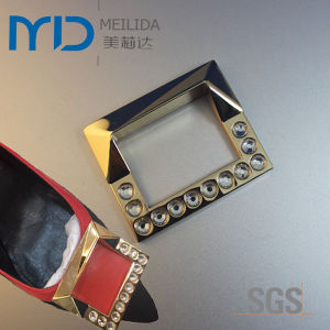 Metal Shoe Buckles with Fake Diamond for Women pictures & photos